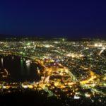 日本三大夜景>函館山、六甲山、稲佐山