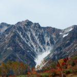 日本三大雪渓>白馬大雪渓、針ノ木大雪渓、剱岳大雪渓